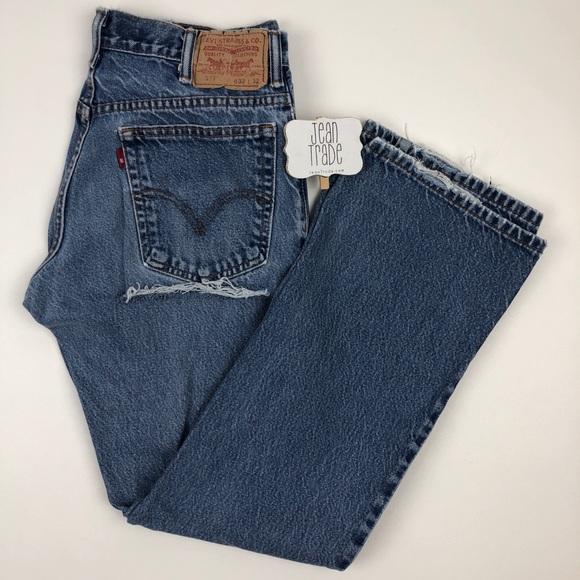 Levi's Denim - Levi's 517 Butt Rip Jean